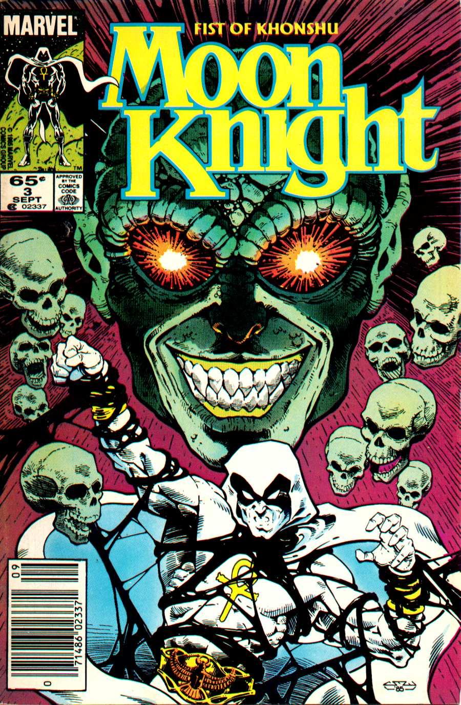 Moon Knight: Fist of Khonshu 3 Page 1
