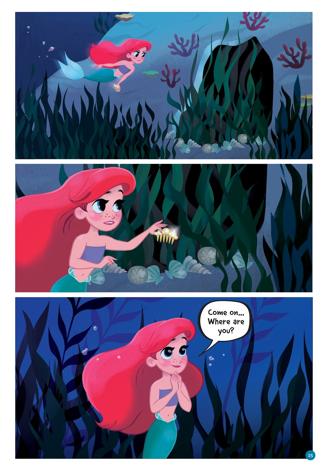 Read online Disney Princess: Ariel and the Sea Wolf comic -  Issue # Full - 23