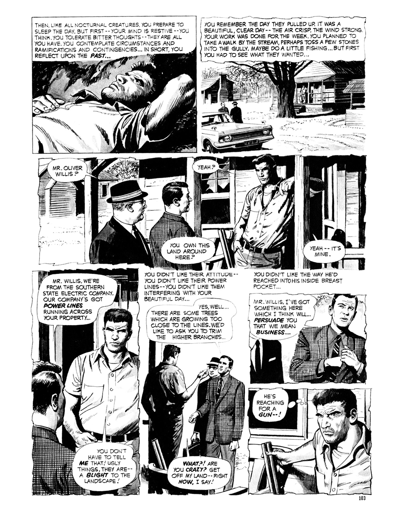 Read online Eerie Archives comic -  Issue # TPB 9 - 104