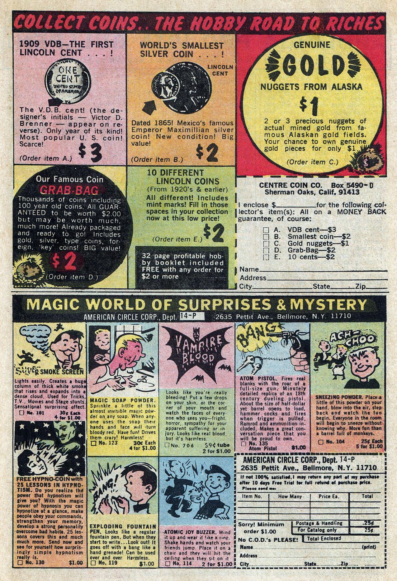 Read online Amazing Adventures (1970) comic -  Issue #10 - 31