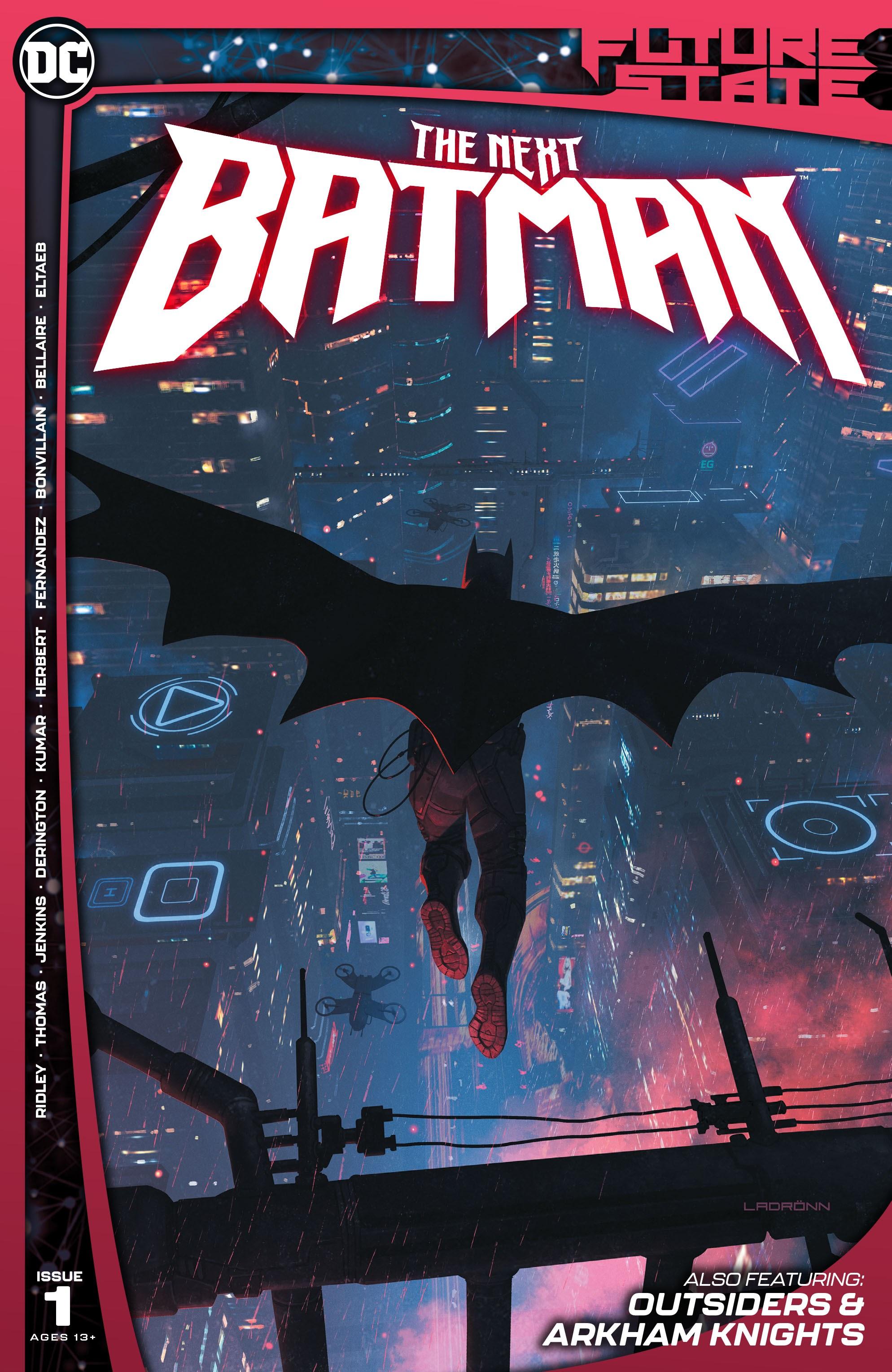 Future State: The Next Batman 1 Page 1