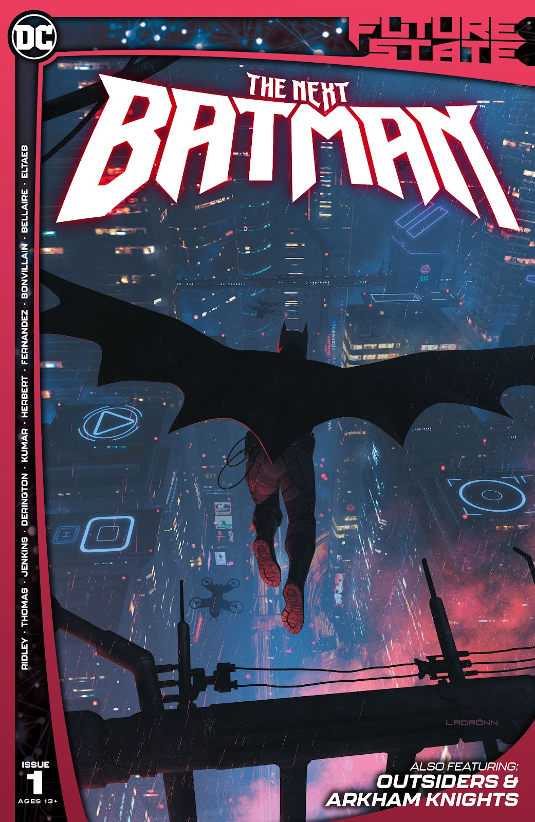 Future State: The Next Batman issue 1 - Page 1