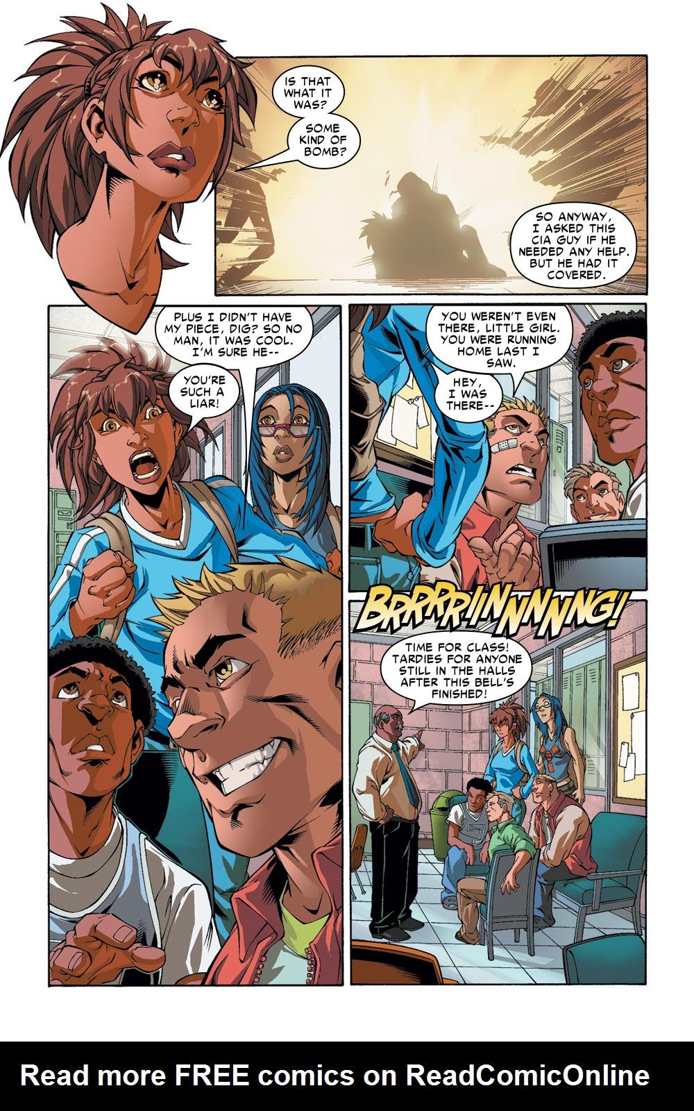 Read online Amazing Fantasy (2004) comic -  Issue #2 - 10