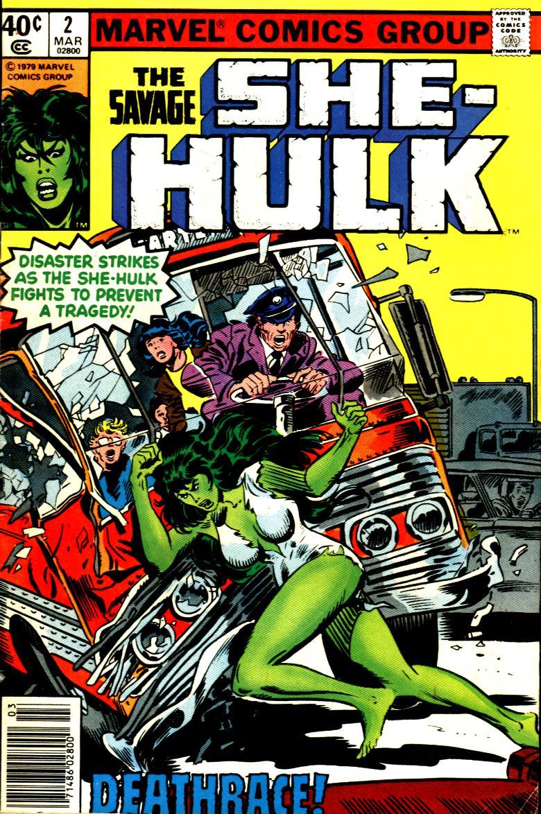 The Savage She-Hulk 2 Page 1