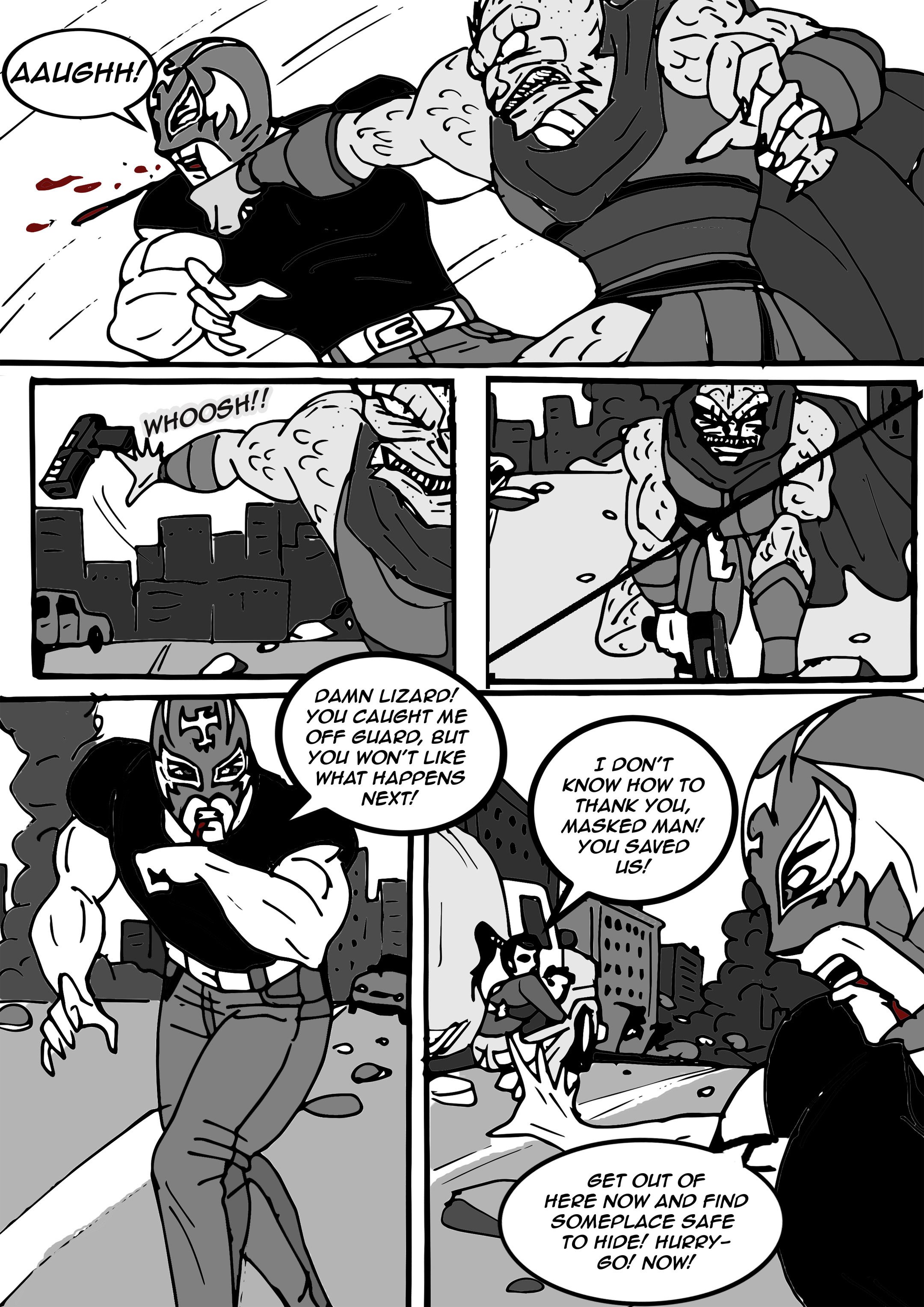 Read online Aski vs. The Draconians comic -  Issue #1 - 18