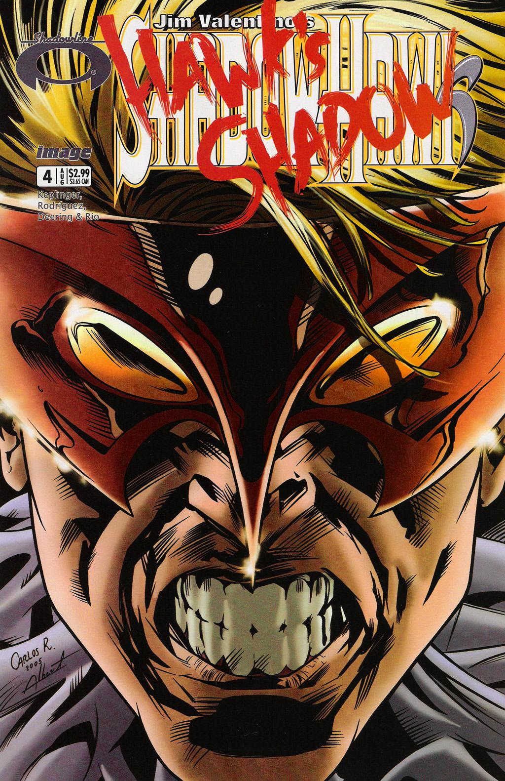 Read online ShadowHawk (2005) comic -  Issue #4 - 1