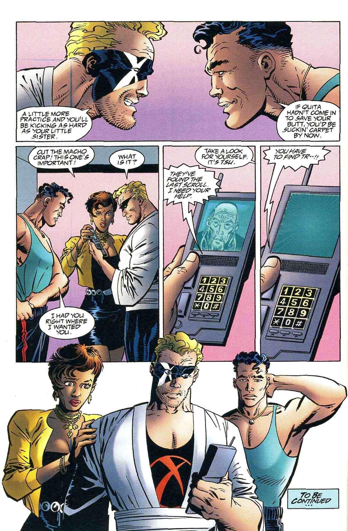 Read online Ultraverse Premiere comic -  Issue #10 - 10