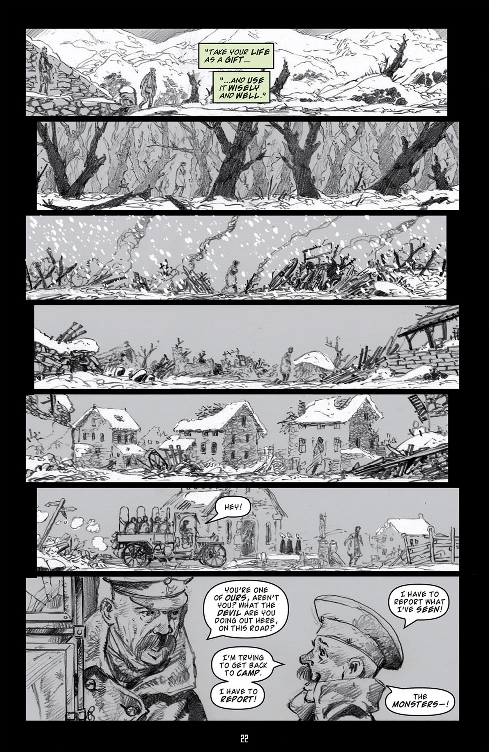 Read online Angel: Blood & Trenches comic -  Issue #4 - 25