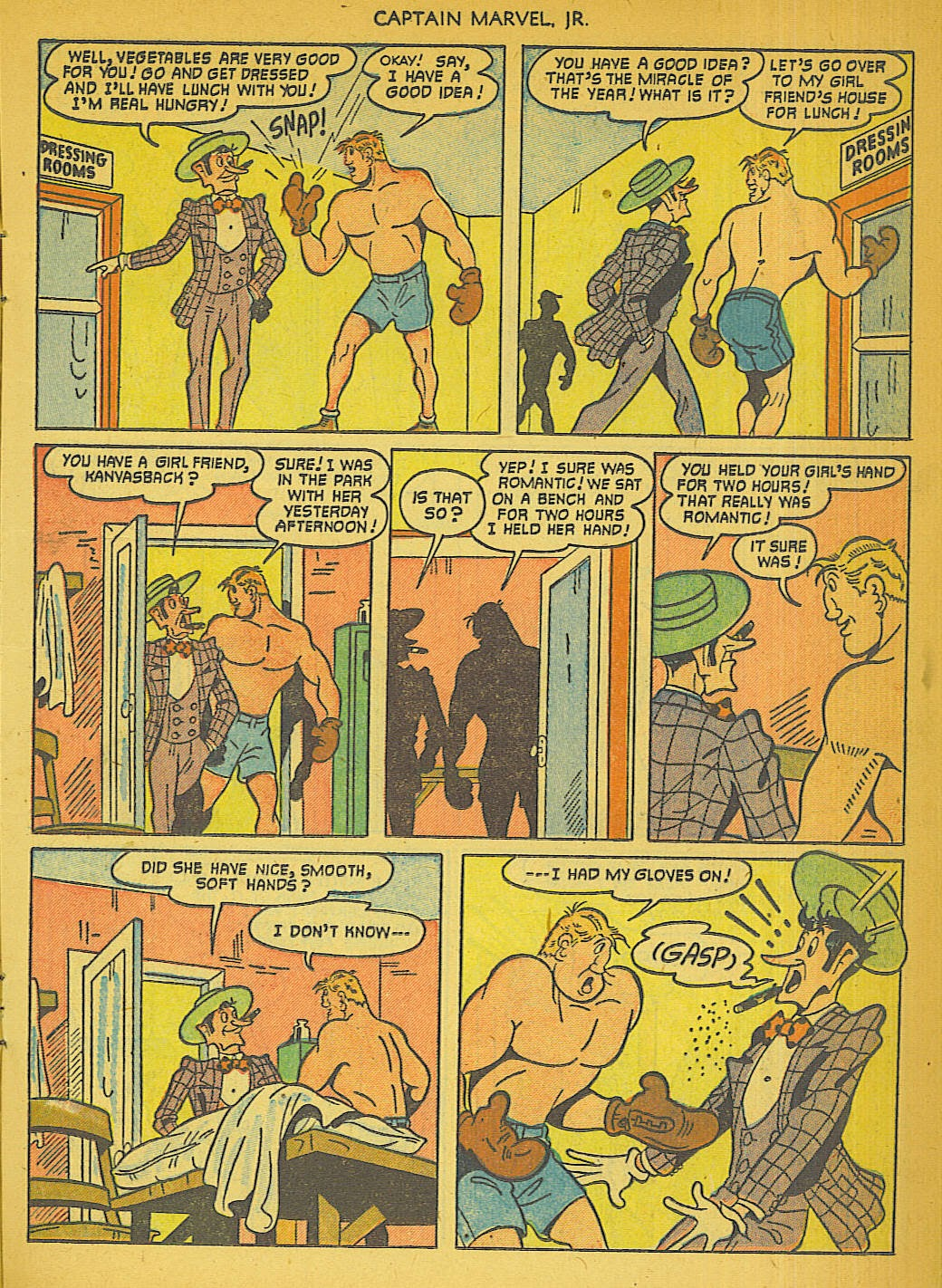 Captain Marvel, Jr. issue 111 - Page 12