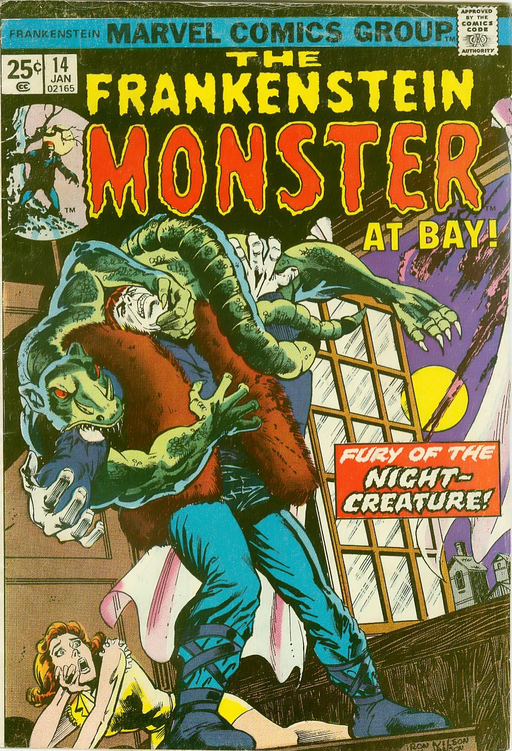 Frankenstein (1973) issue 14 - Page 1
