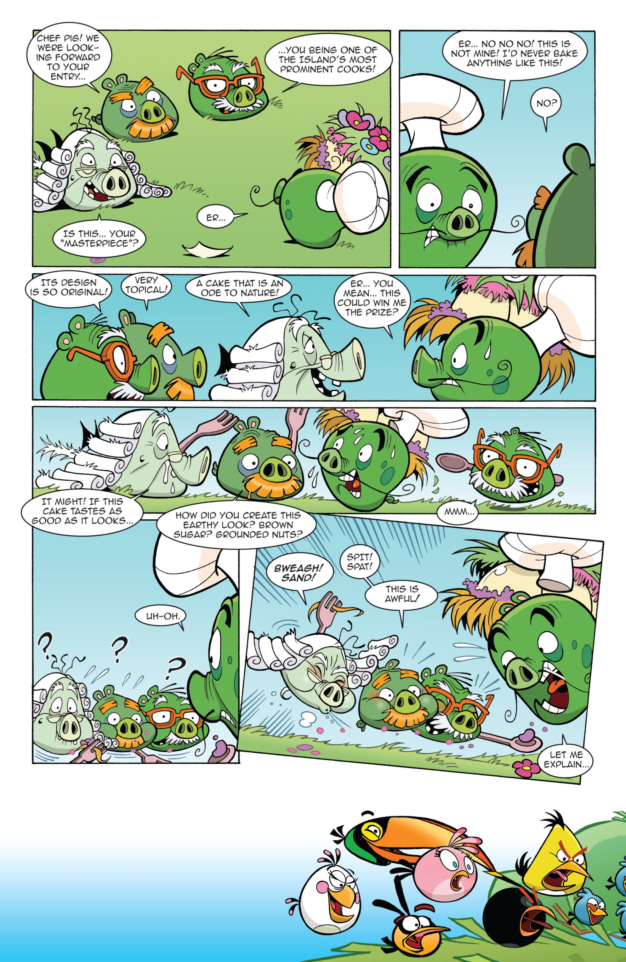 Read online Angry Birds Comics (2014) comic -  Issue #11 - 19