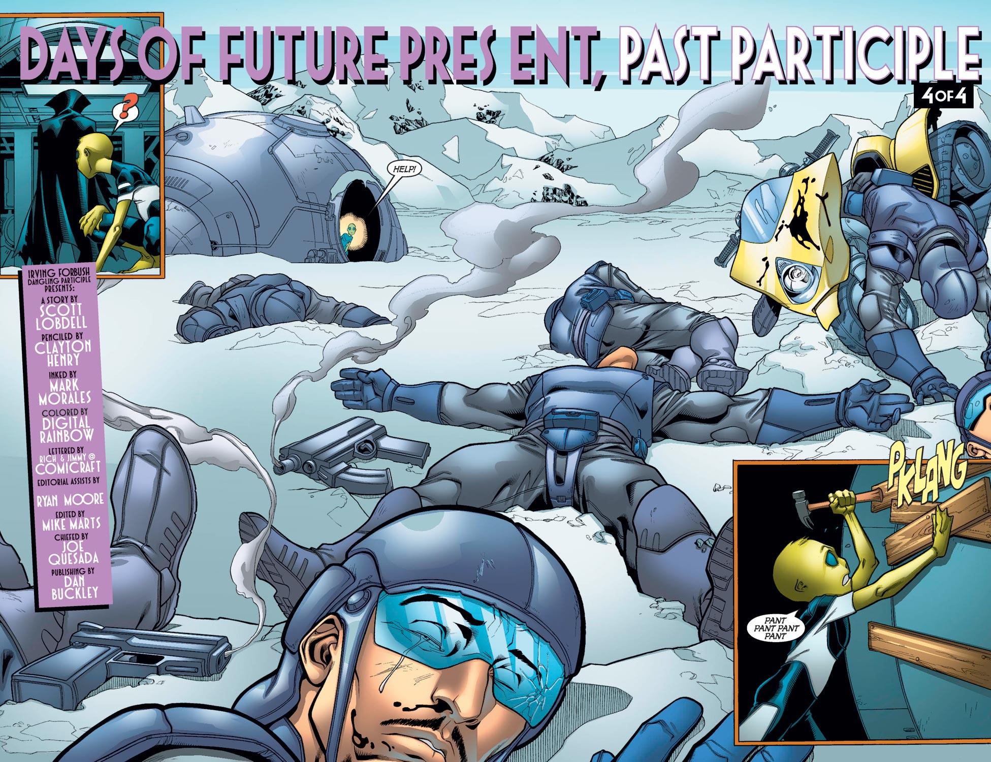 Read online Alpha Flight (2004) comic -  Issue #12 - 4