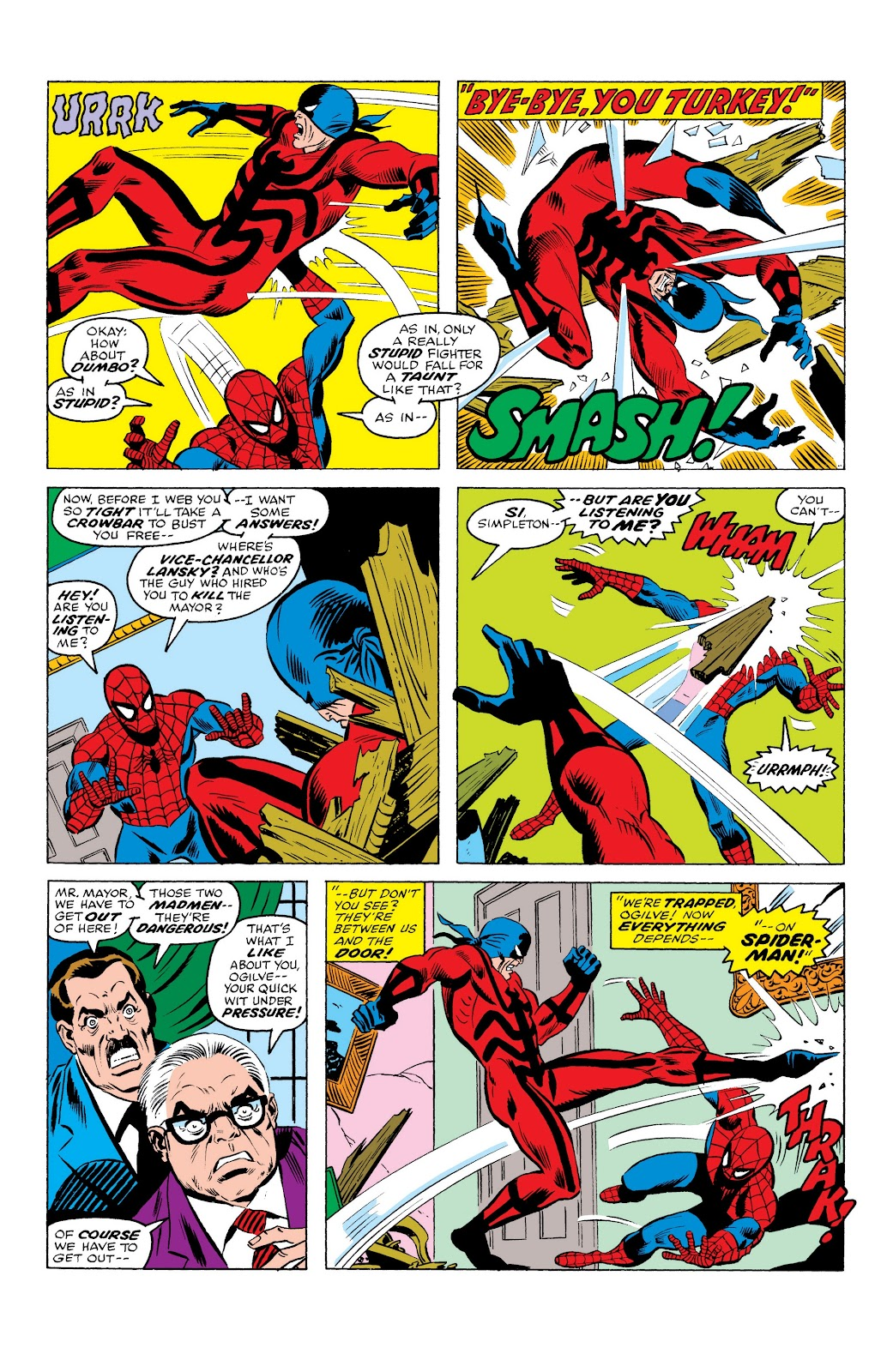 Read online Marvel Masterworks: The Spectacular Spider-Man comic -  Issue # TPB (Part 1) - 23