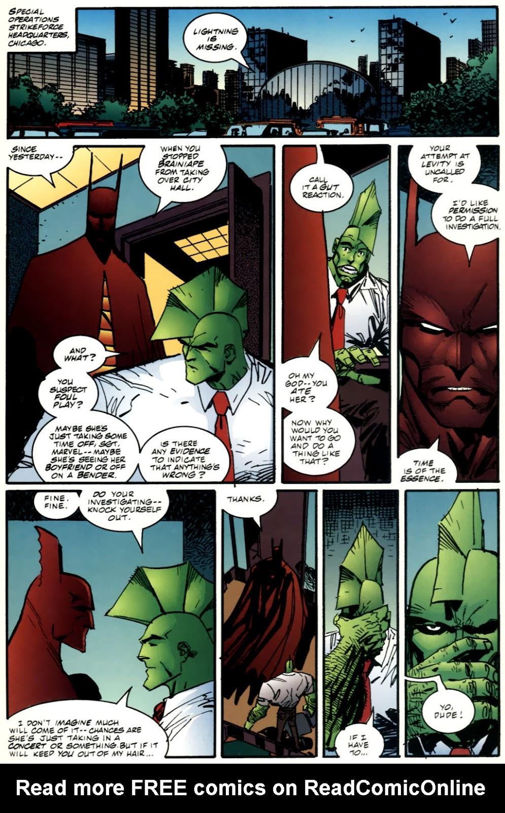 The Savage Dragon (1993) Issue #61 #64 - English 10