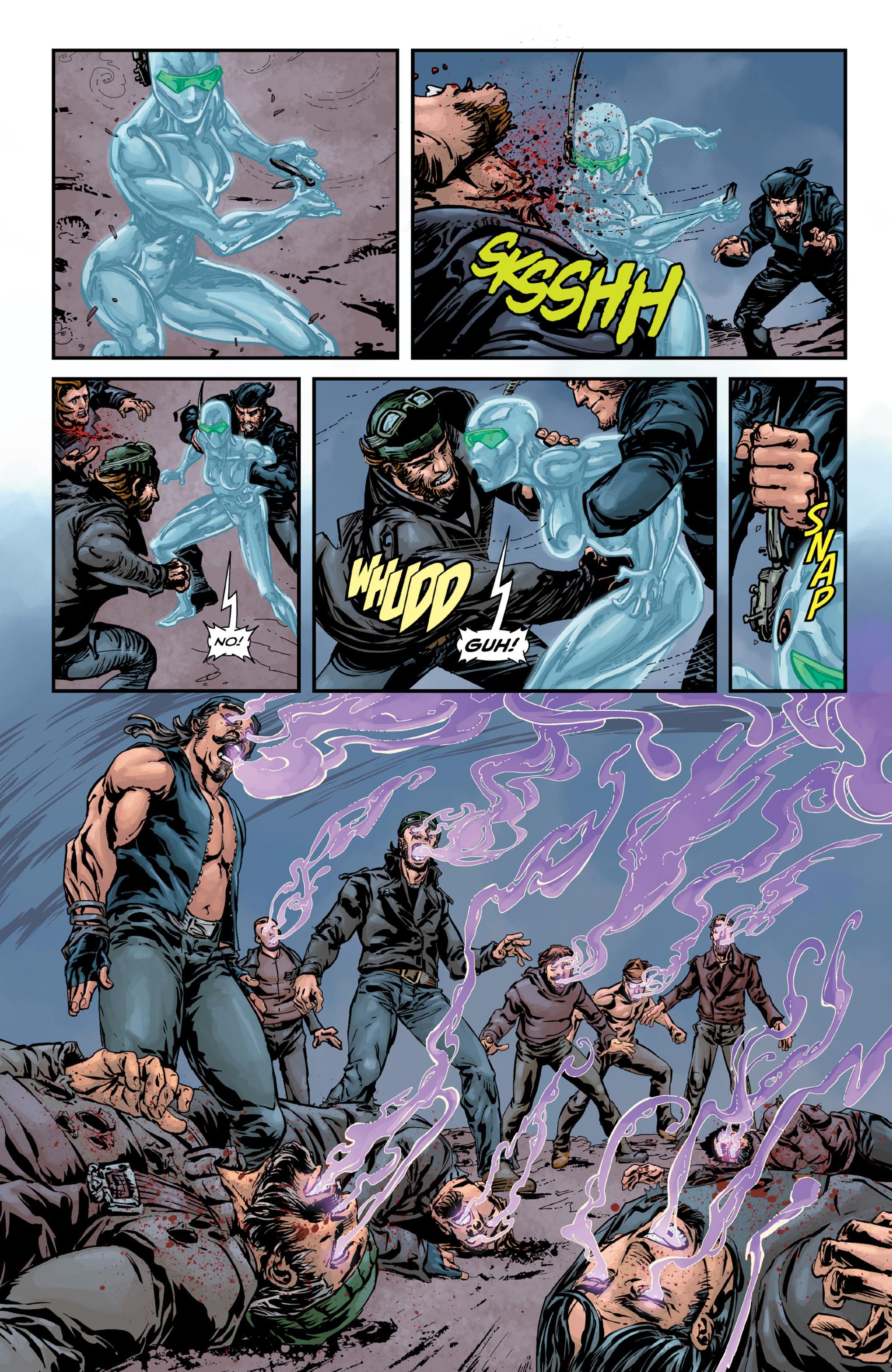 Read online Brain Boy:  The Men from G.E.S.T.A.L.T. comic -  Issue # TPB - 68