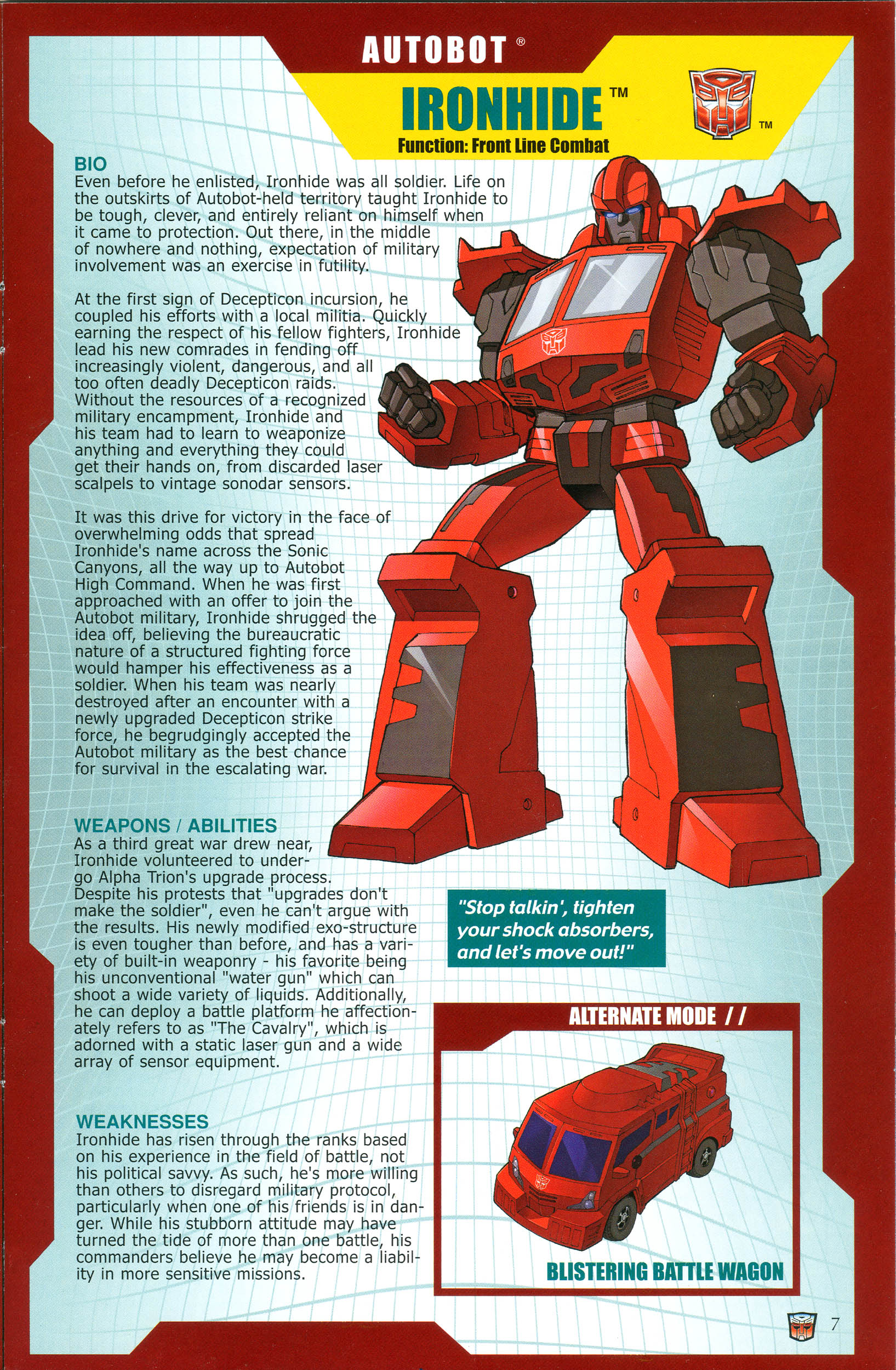 Read online Transformers: Collectors' Club comic -  Issue #38 - 7