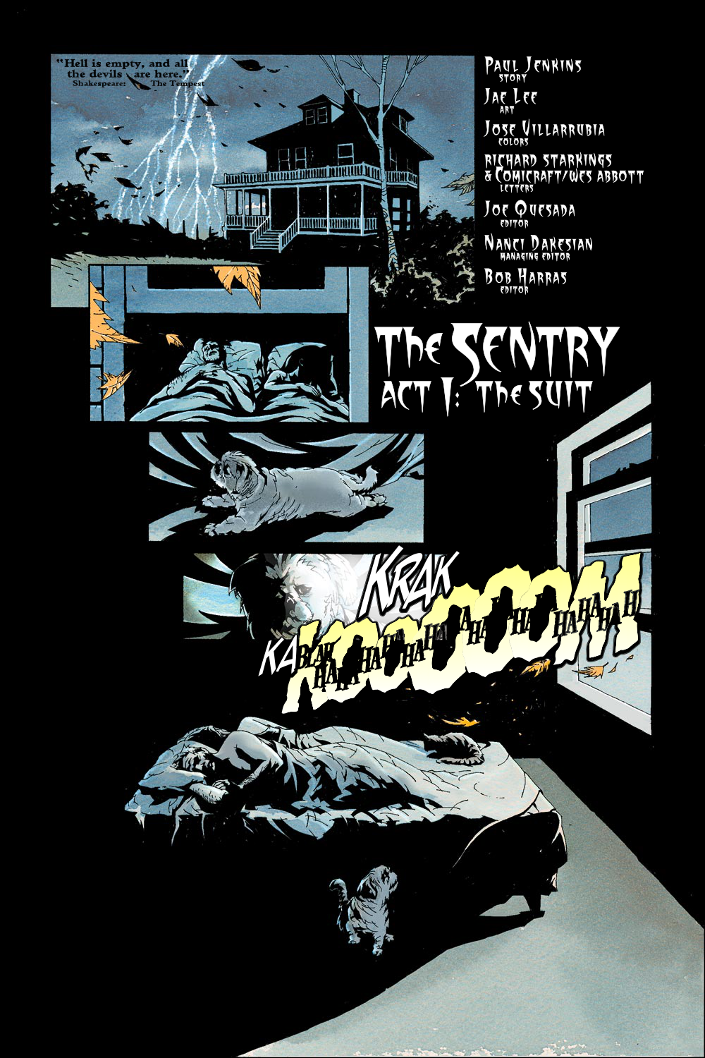 Read online Sentry (2000) comic -  Issue #1 - 2