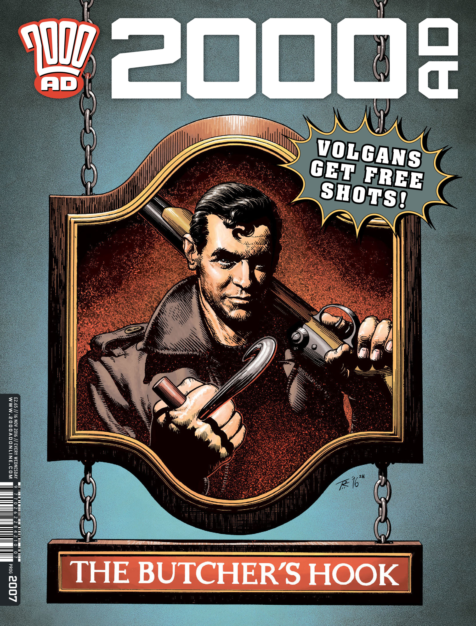 Read online 2000 AD comic -  Issue #2007 - 1
