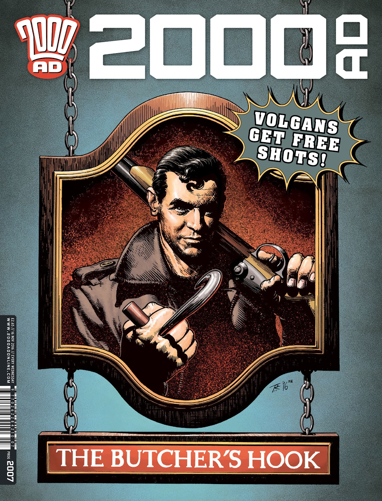 2000 AD issue 2007 - Page 1