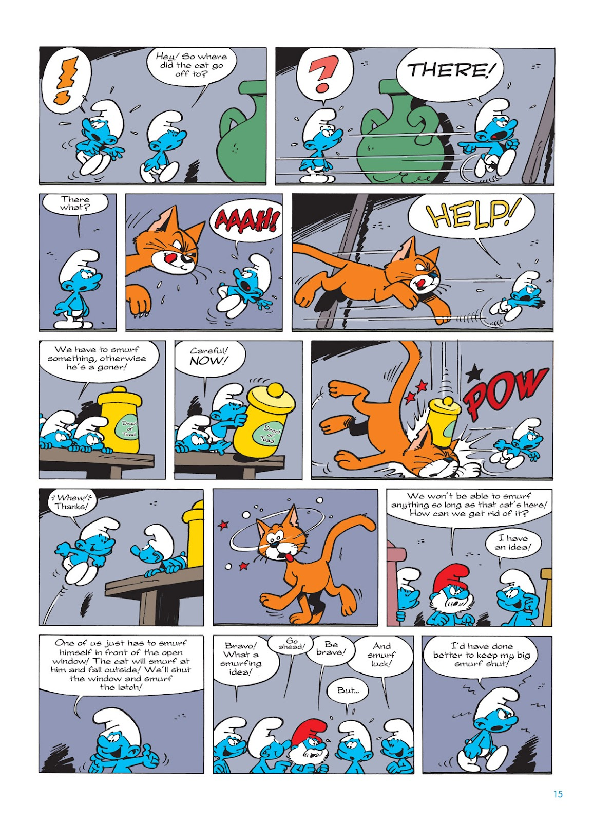 Read online The Smurfs comic -  Issue #9 - 15