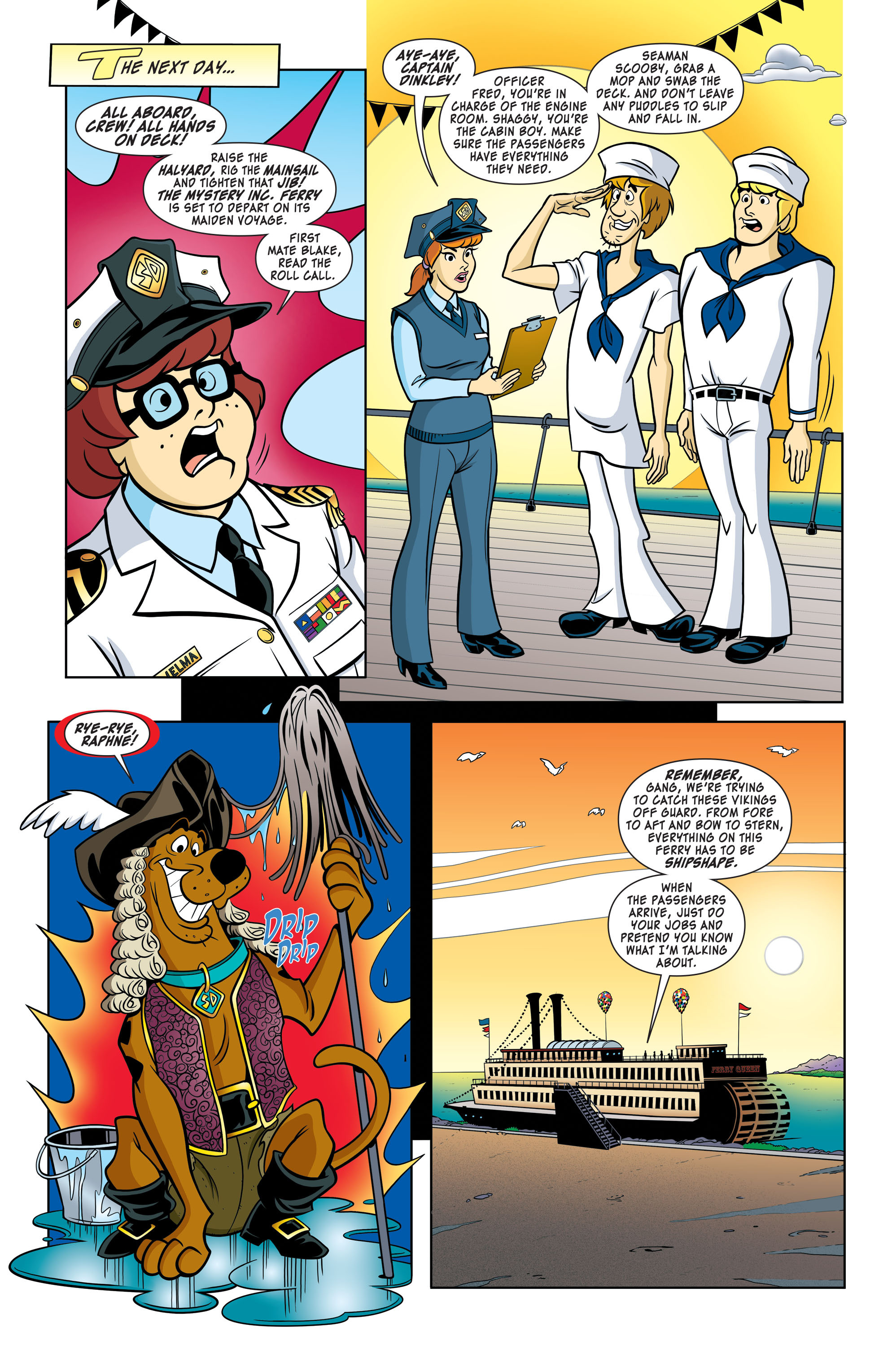 Read online Scooby-Doo: Where Are You? comic -  Issue #60 - 6