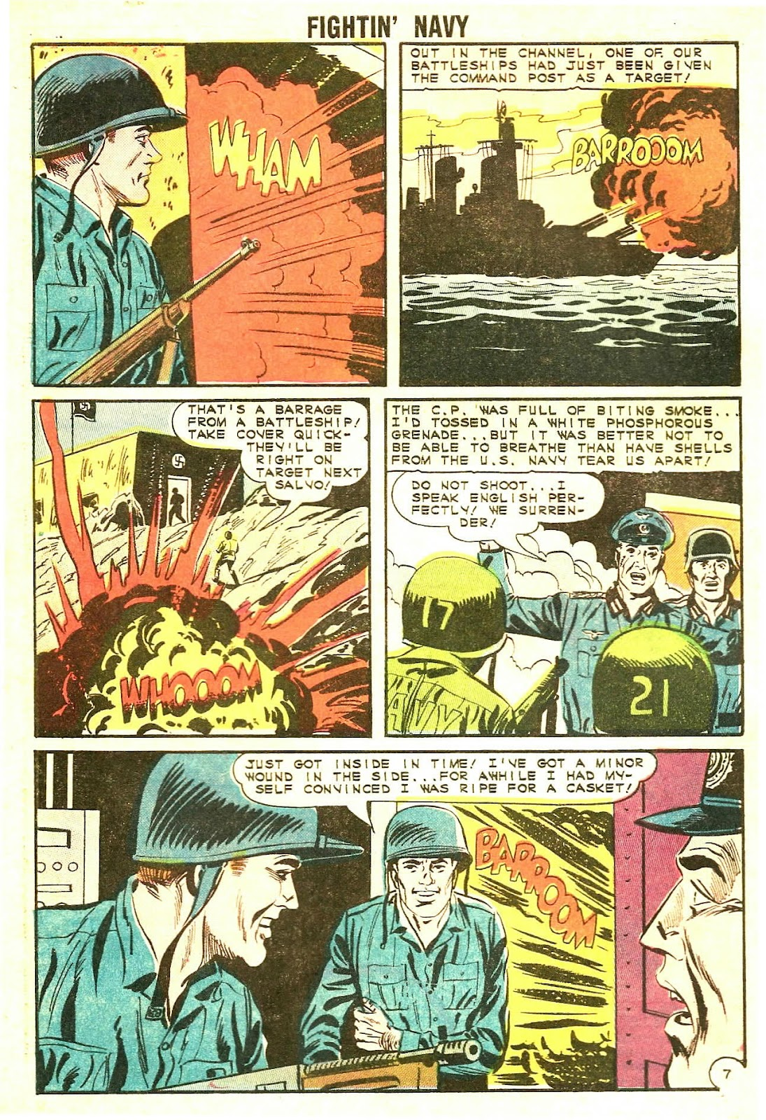 Read online Fightin' Navy comic -  Issue #117 - 32