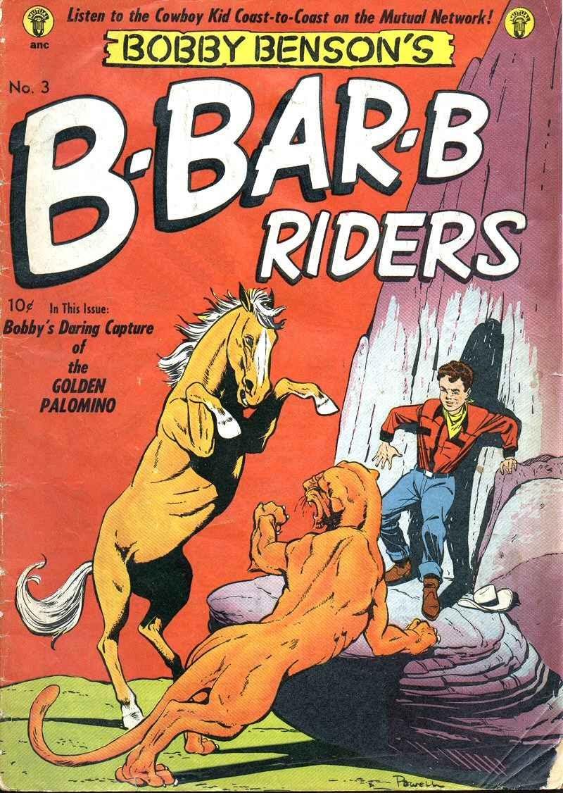 Bobby Benson's B-Bar-B Riders issue 3 - Page 1