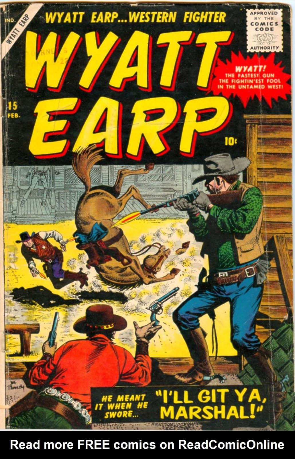 Wyatt Earp issue 15 - Page 1