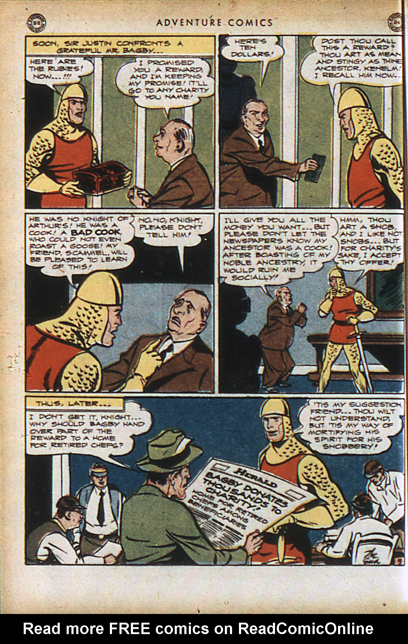 Read online Adventure Comics (1938) comic -  Issue #94 - 23