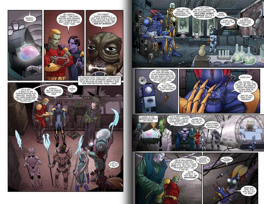 Read online ReBoot: Paradigms Lost comic -  Issue # Full - 9