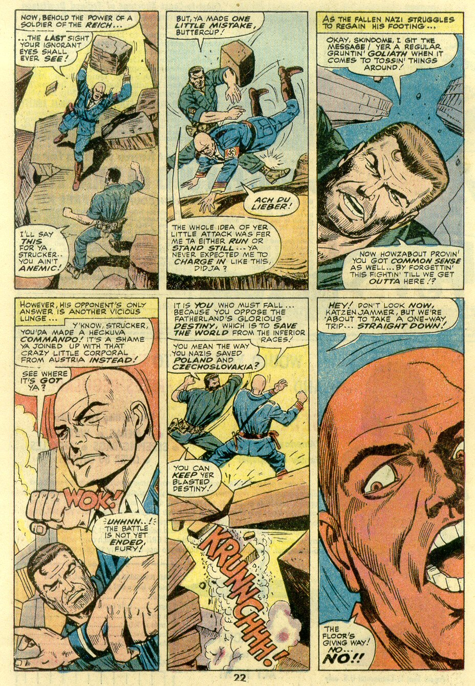 Read online Sgt. Fury comic -  Issue #131 - 24