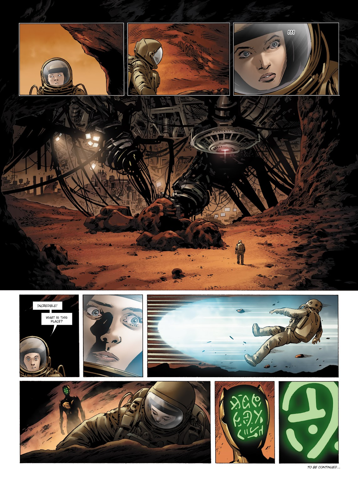 Read online Olympus Mons Vol. 1: Anomaly One comic -  Issue #4 - 52