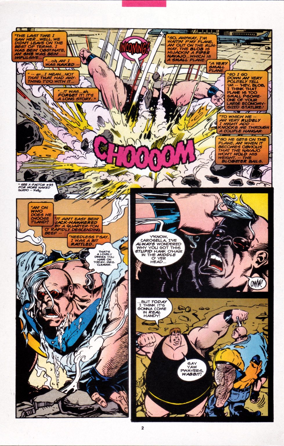 Read online X-Factor (1986) comic -  Issue #107 - 3