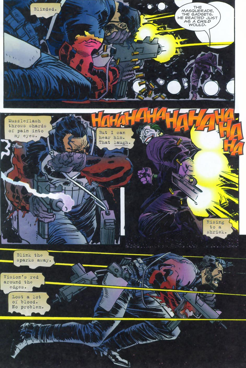 Read online Punisher/Batman: Deadly Knights comic -  Issue # Full - 38