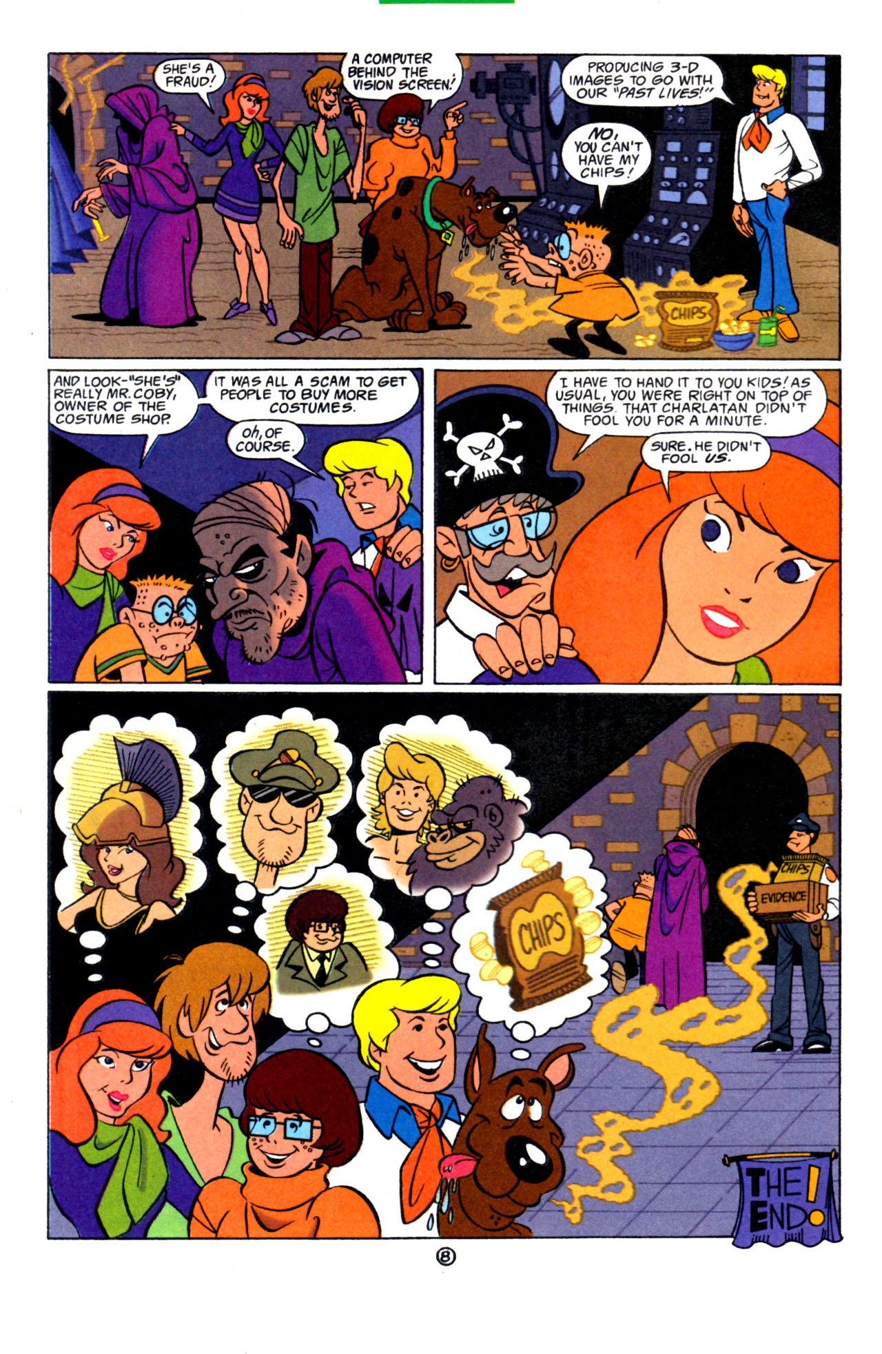 Read online Scooby-Doo (1997) comic -  Issue #7 - 23