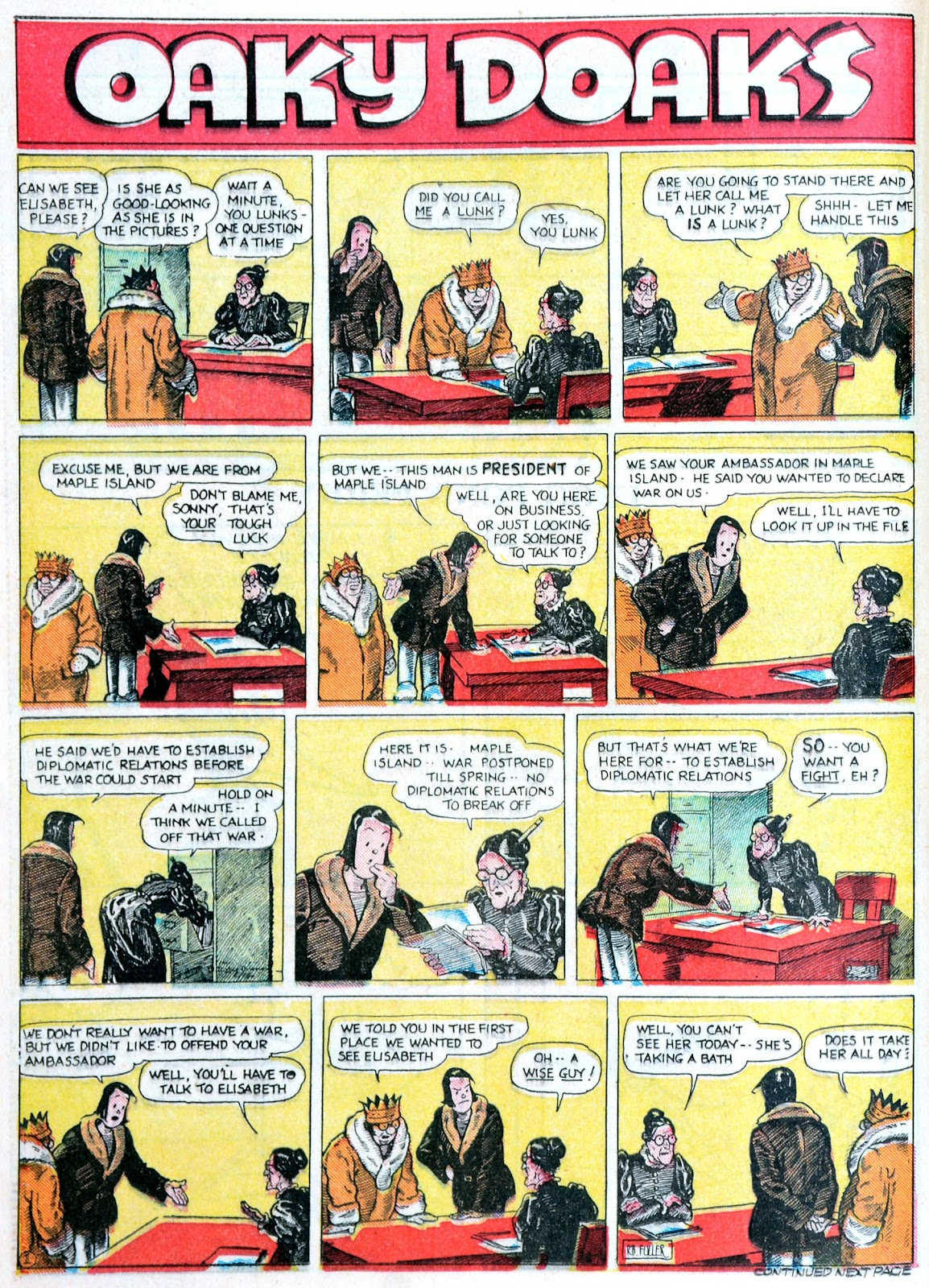 Read online Famous Funnies comic -  Issue #60 - 37