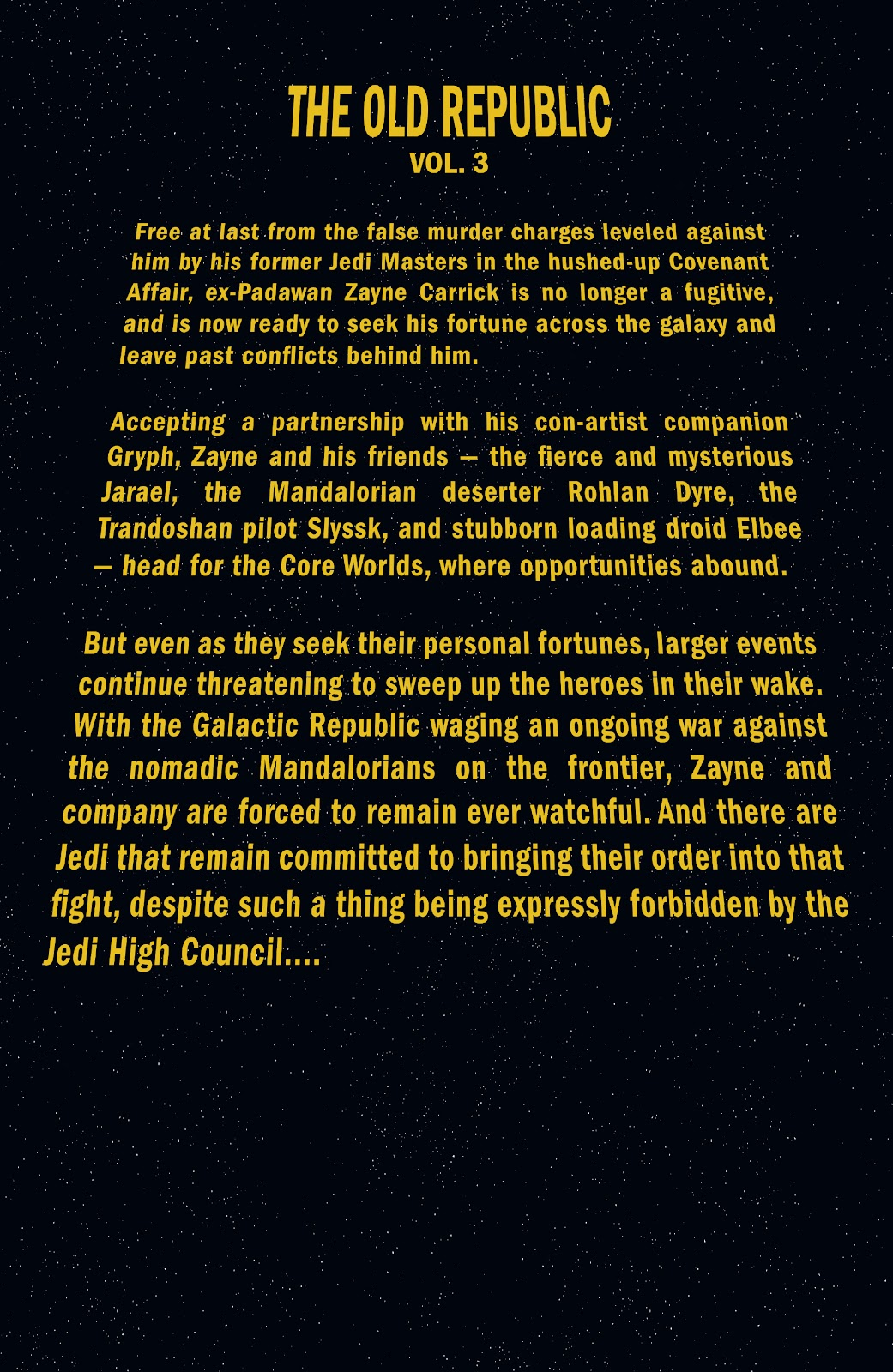 Read online Star Wars Legends: The Old Republic - Epic Collection comic -  Issue # TPB 3 (Part 1) - 6
