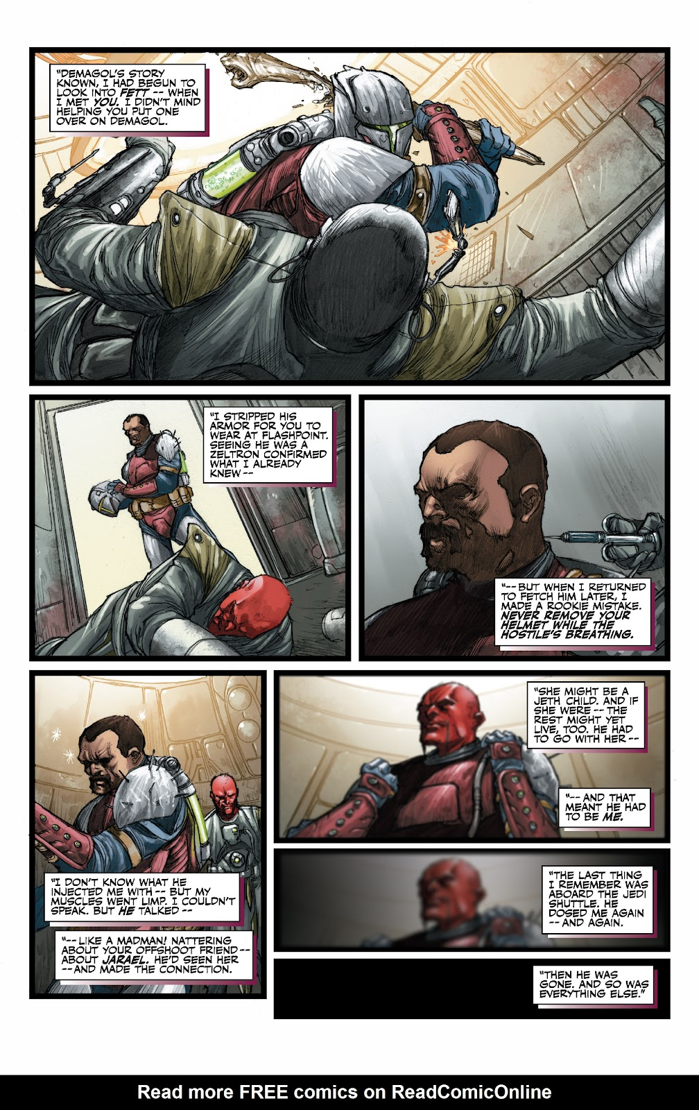 Read online Star Wars Legends: The Old Republic - Epic Collection comic -  Issue # TPB 3 (Part 3) - 46
