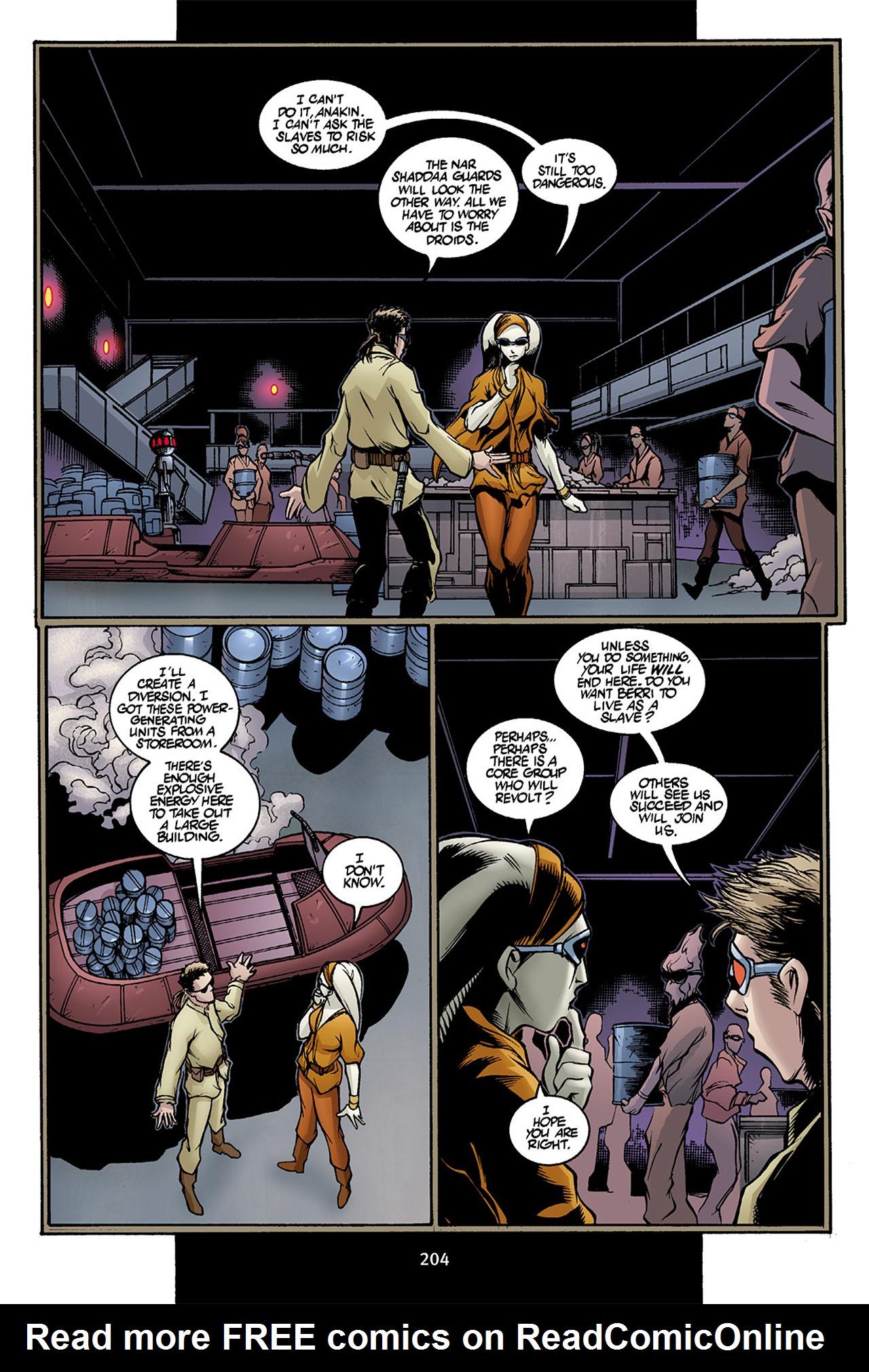 Read online Star Wars Omnibus comic -  Issue # Vol. 10 - 203