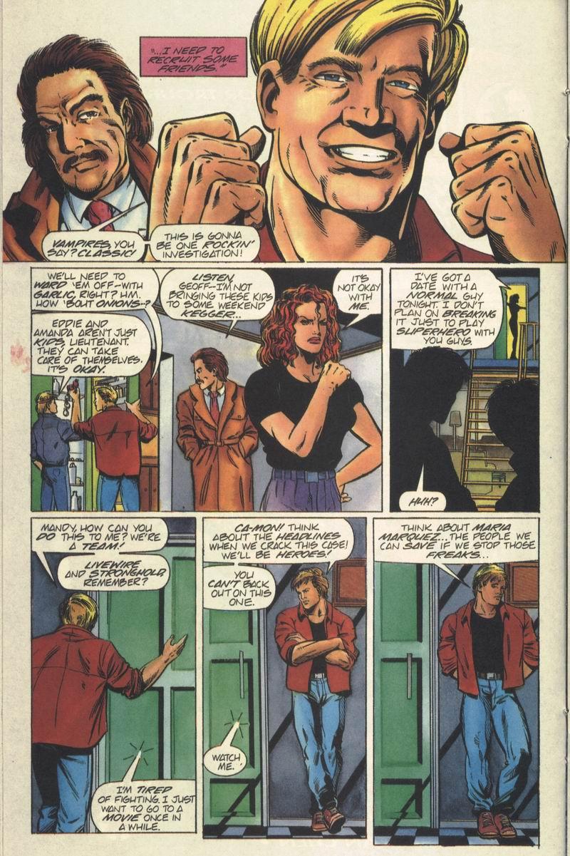 Read online Secret Weapons comic -  Issue #6 - 12