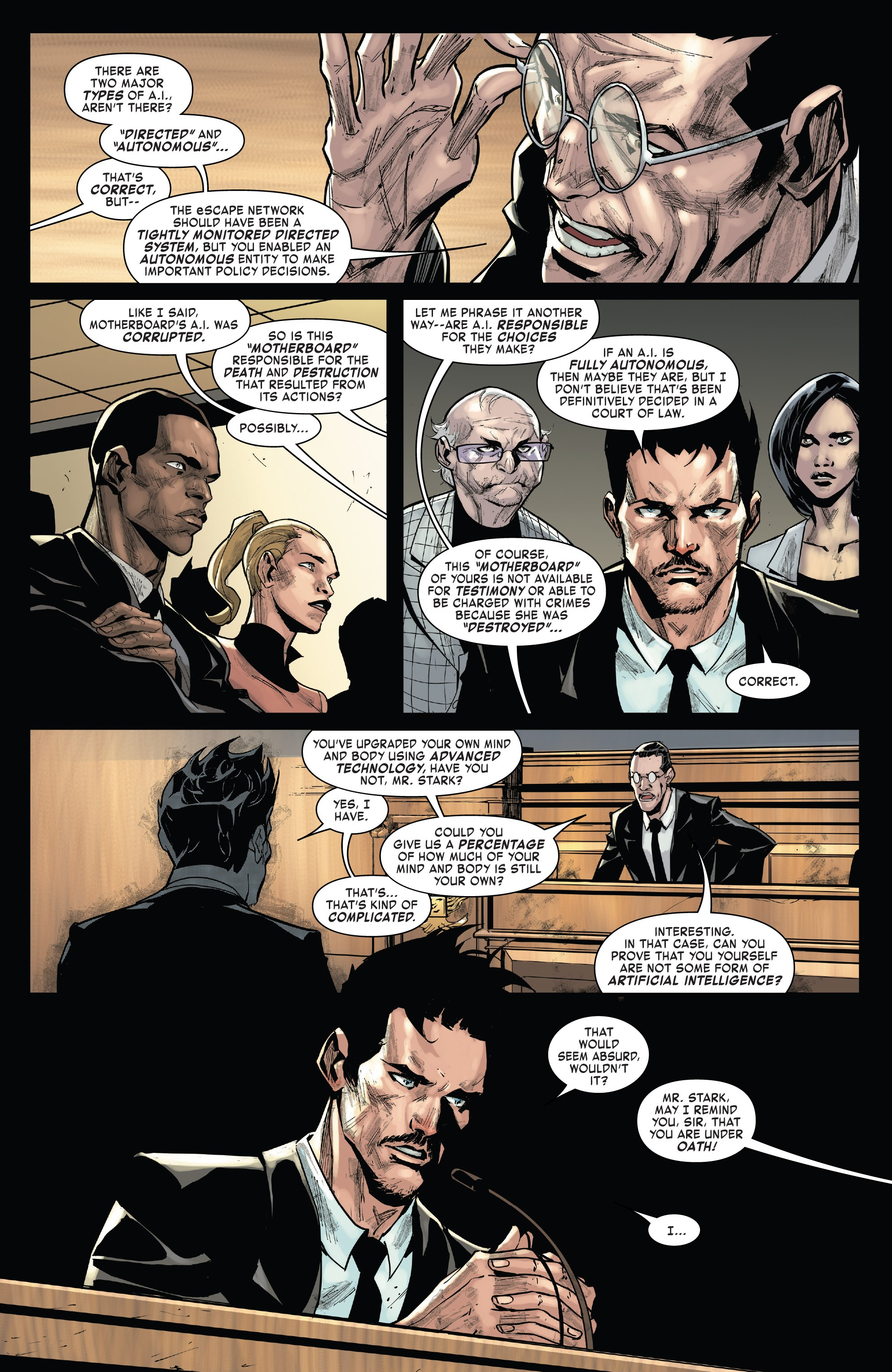 Read online Tony Stark: Iron Man comic -  Issue #15 - 4