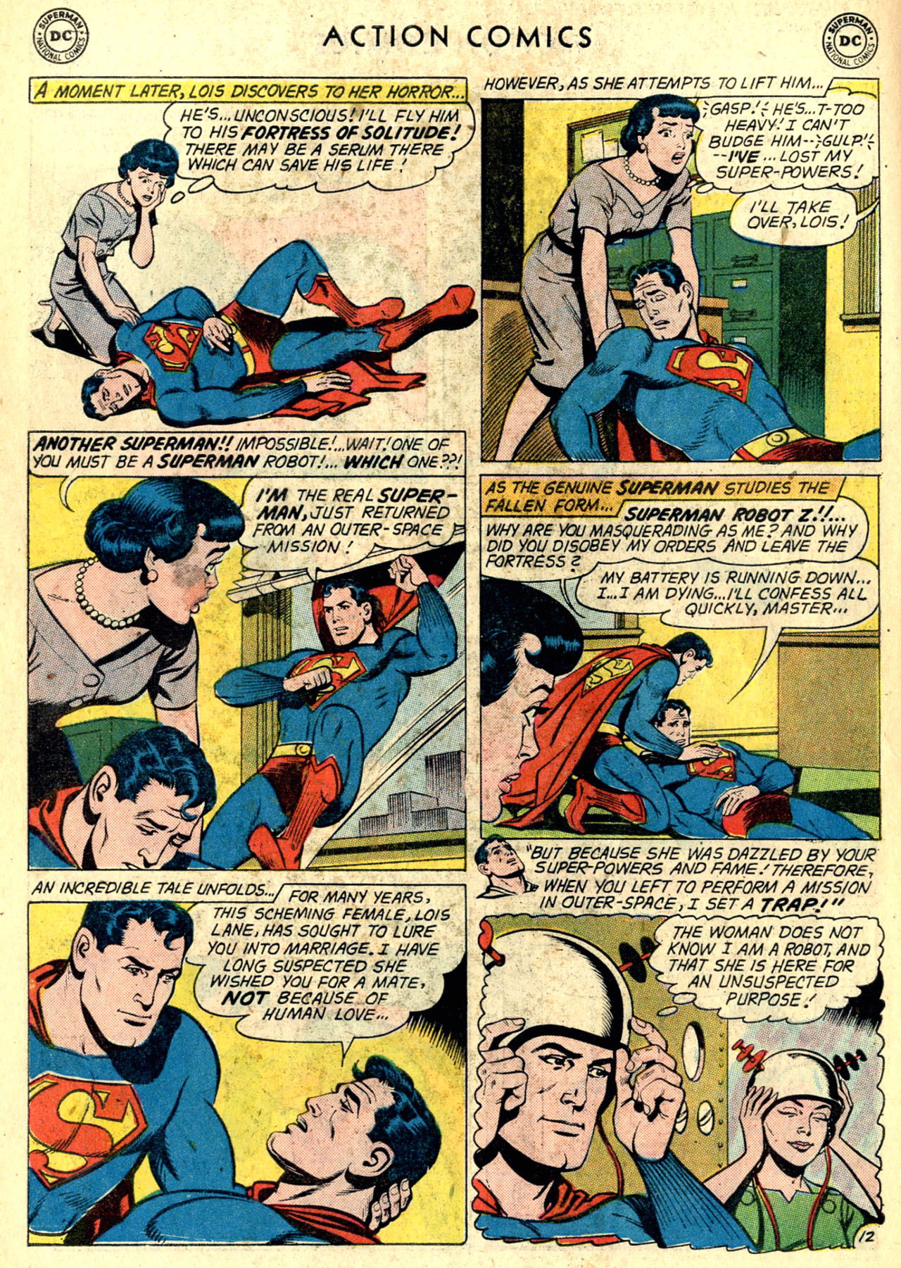 Read online Action Comics (1938) comic -  Issue #274 - 14