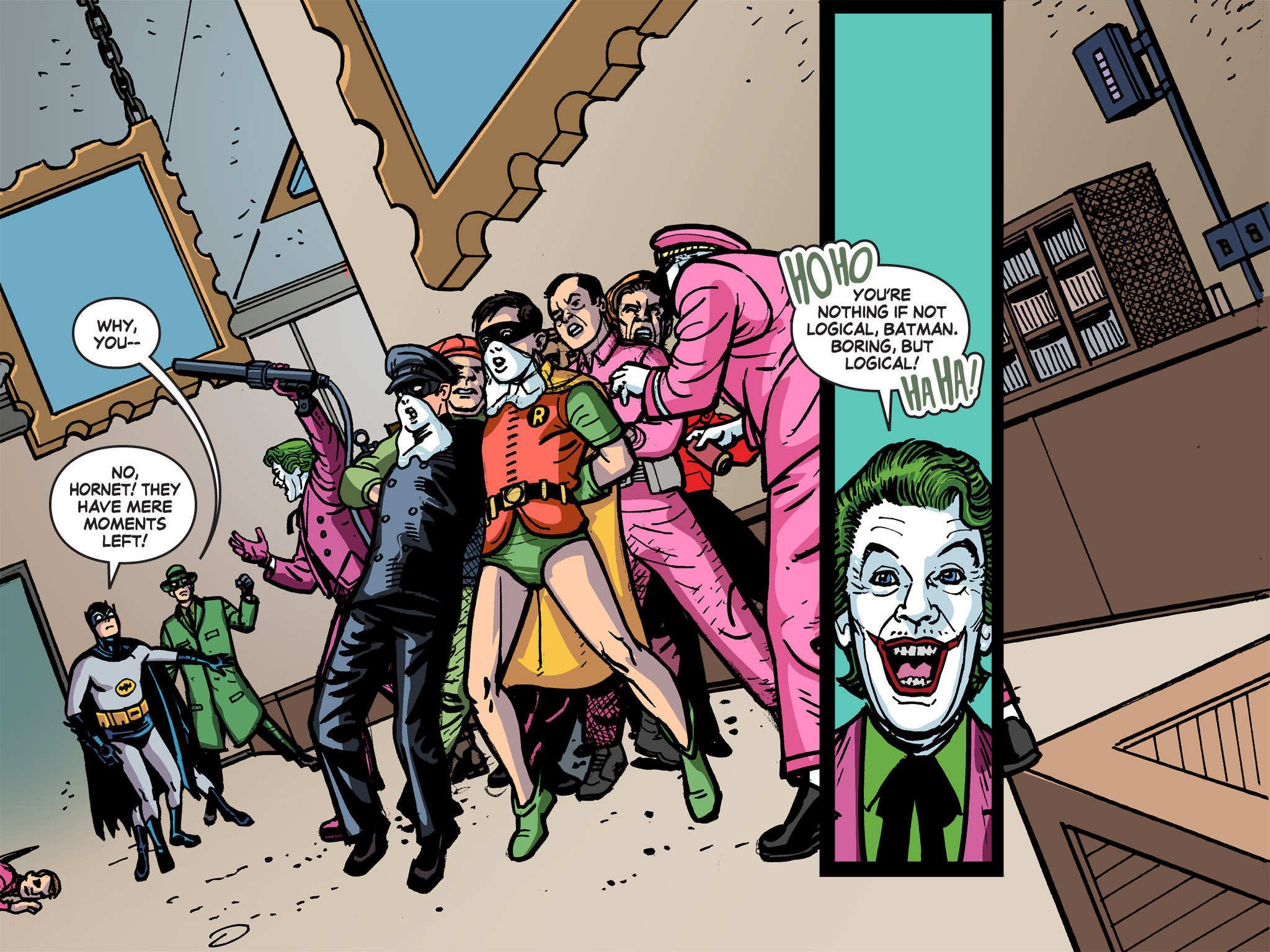 Read online Batman '66 Meets the Green Hornet [II] comic -  Issue #5 - 4