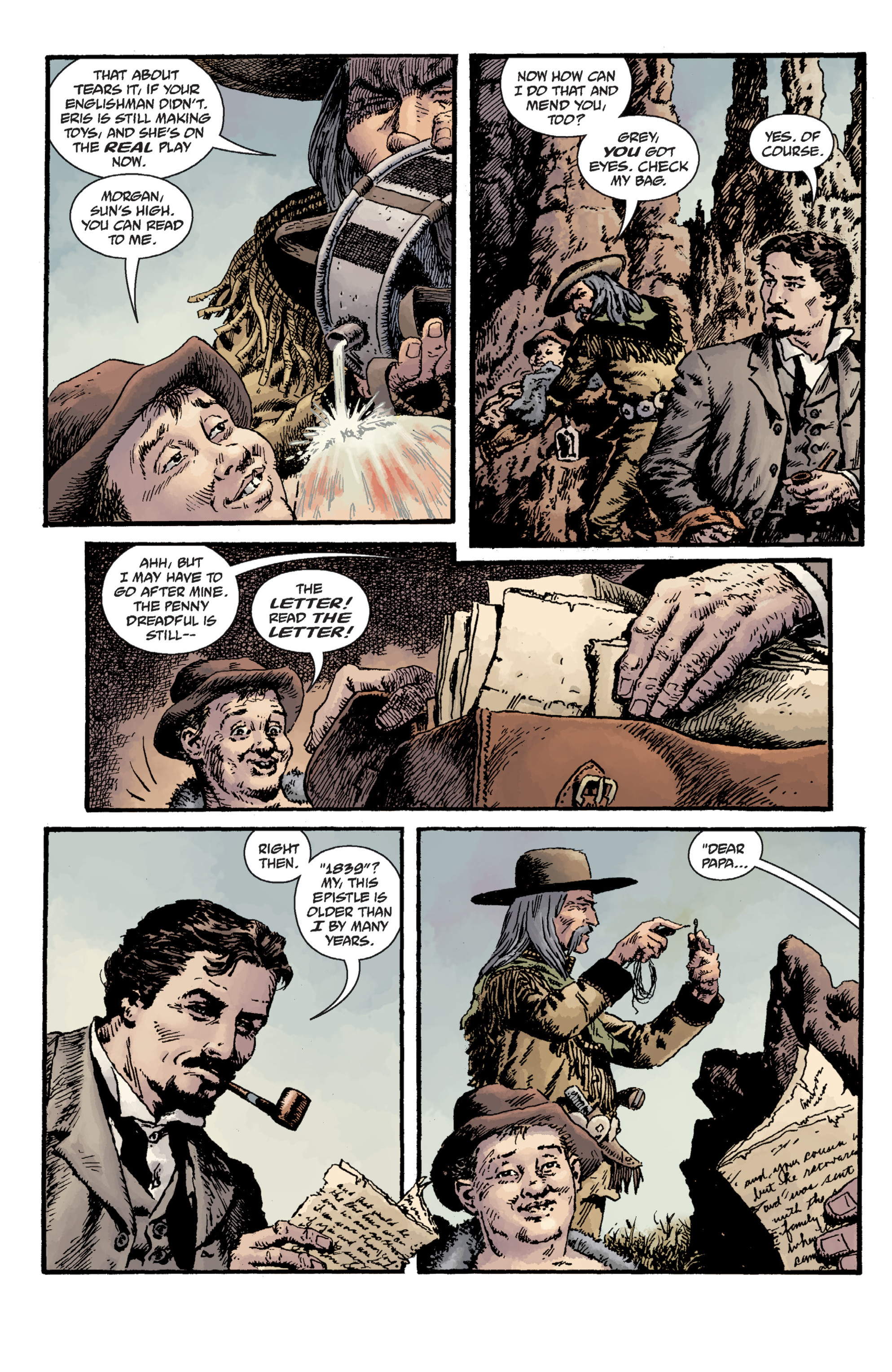 Read online Sir Edward Grey, Witchfinder: Lost and Gone Forever comic -  Issue # TPB - 69