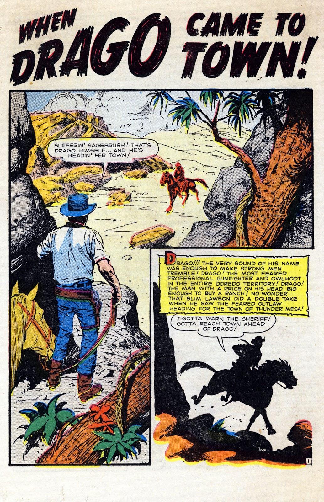 Gunsmoke Western issue 36 - Page 22