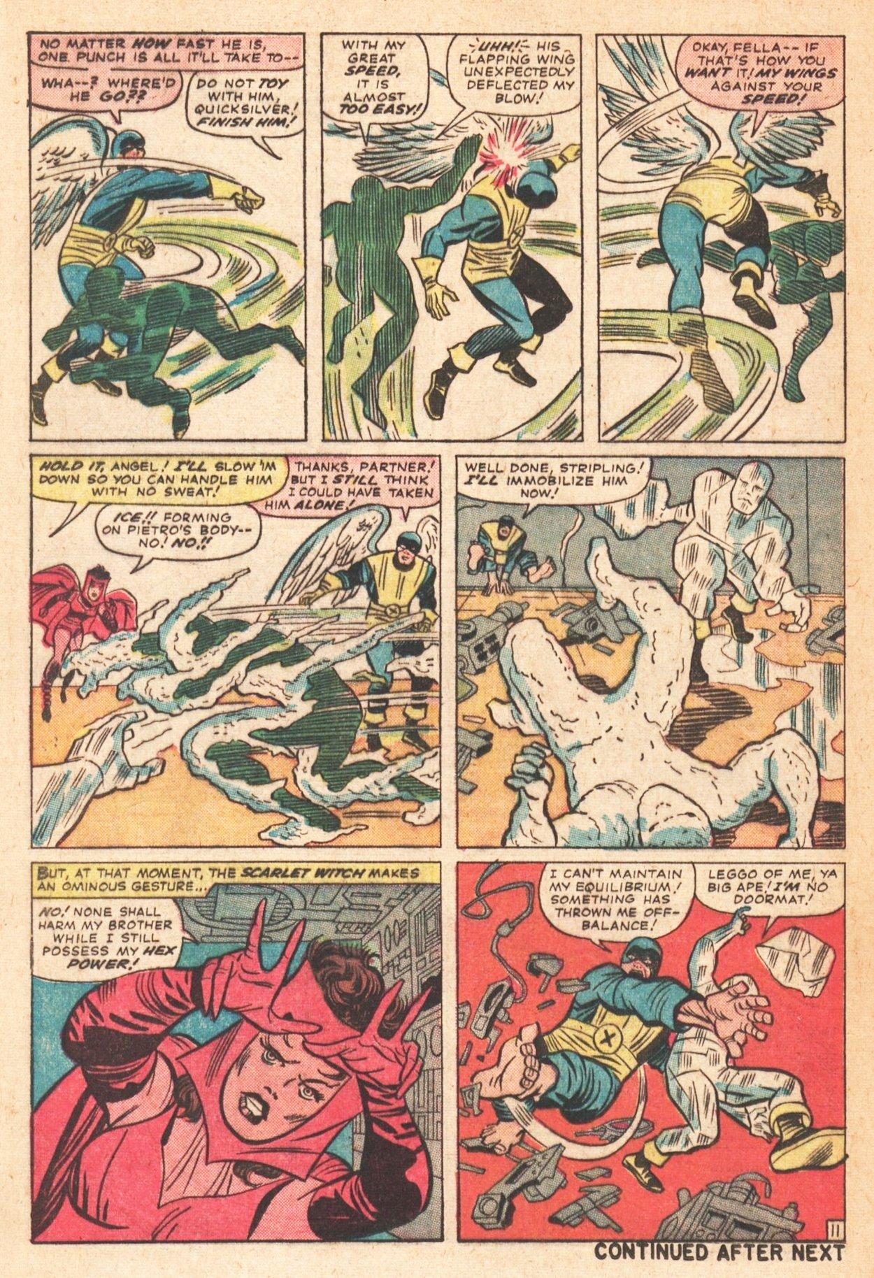 Read online Uncanny X-Men (1963) comic -  Issue # _Annual 1 - 38