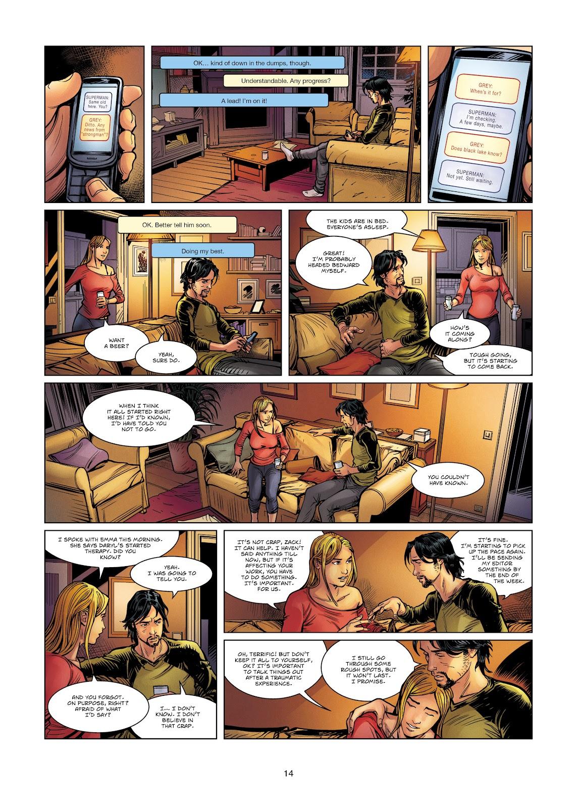 Read online Vigilantes comic -  Issue #4 - 14