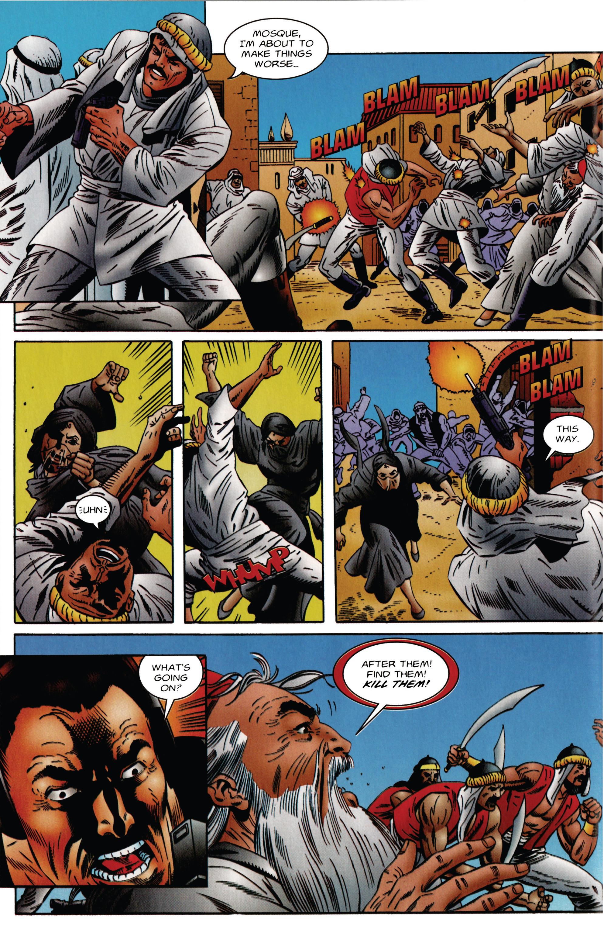 Read online Eternal Warrior (1992) comic -  Issue #48 - 6