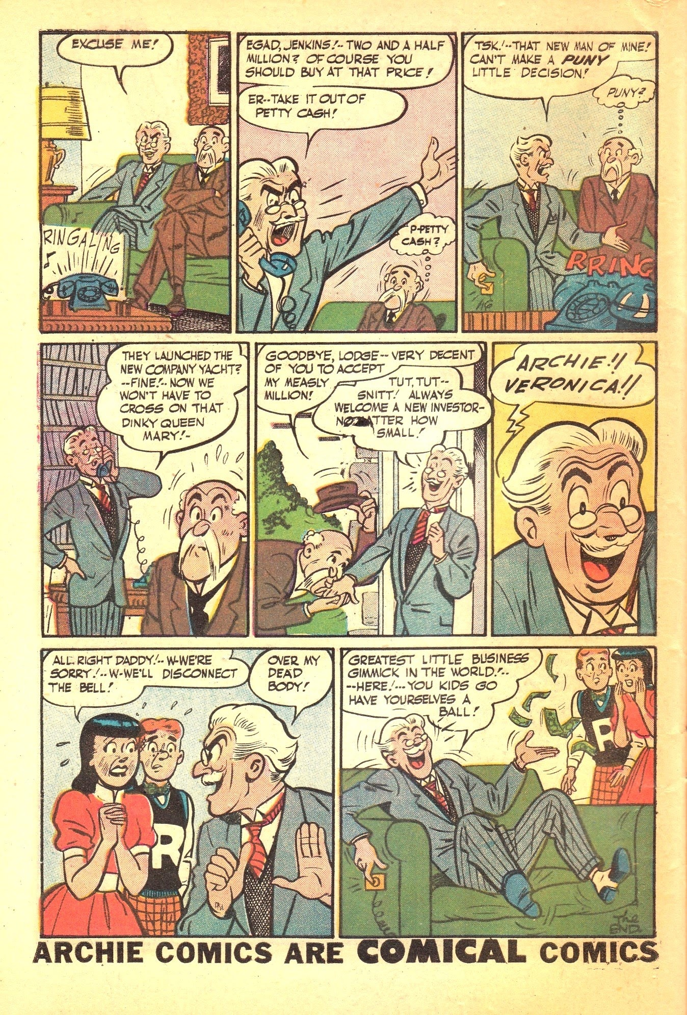 Archie Comics issue 087 - Page 34
