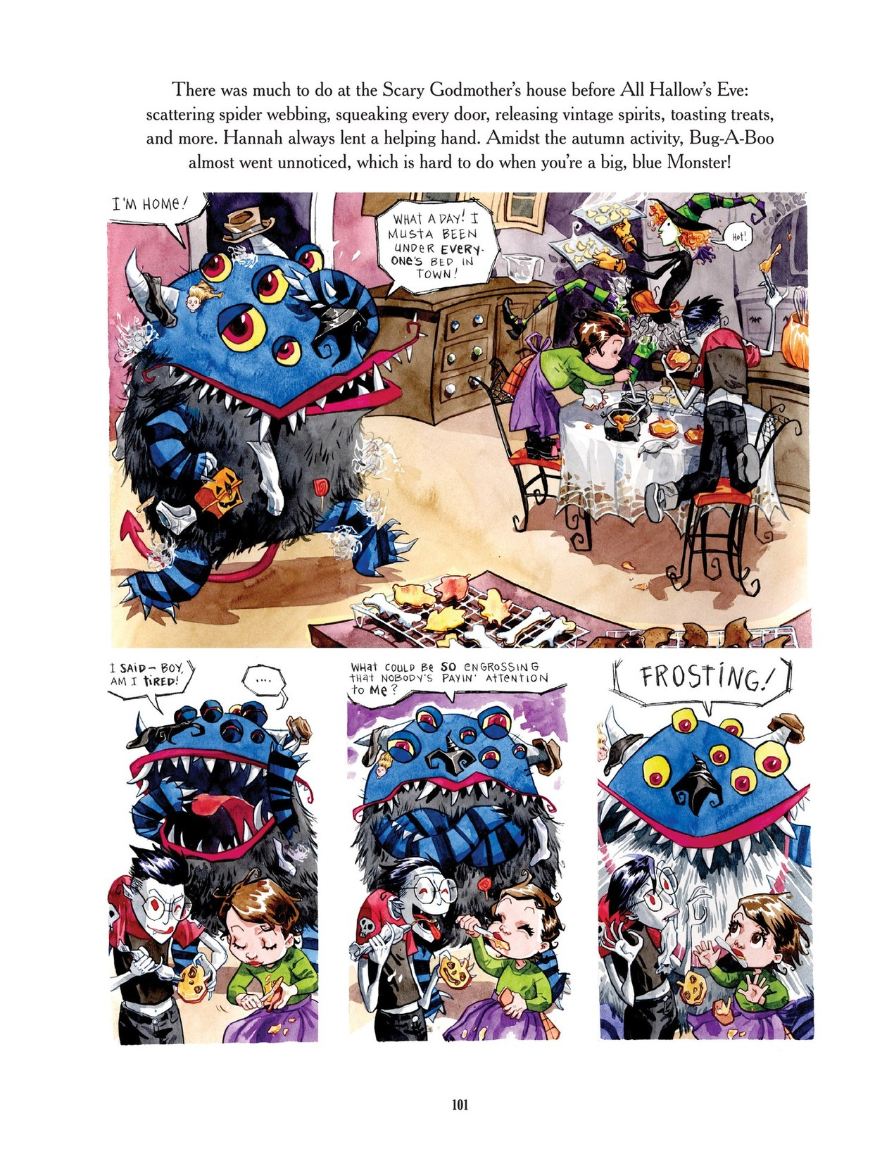 Read online Scary Godmother comic -  Issue # TPB - 101